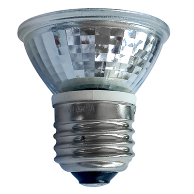 Glass LED Light PAR16 Halogen Lamp Terminator